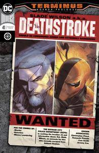 Deathstroke 041 2019 2 covers Digital Zone