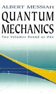 Quantum Mechanics: Two Volumes Bound As One