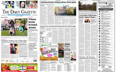 The Daily Gazette – October 28, 2017