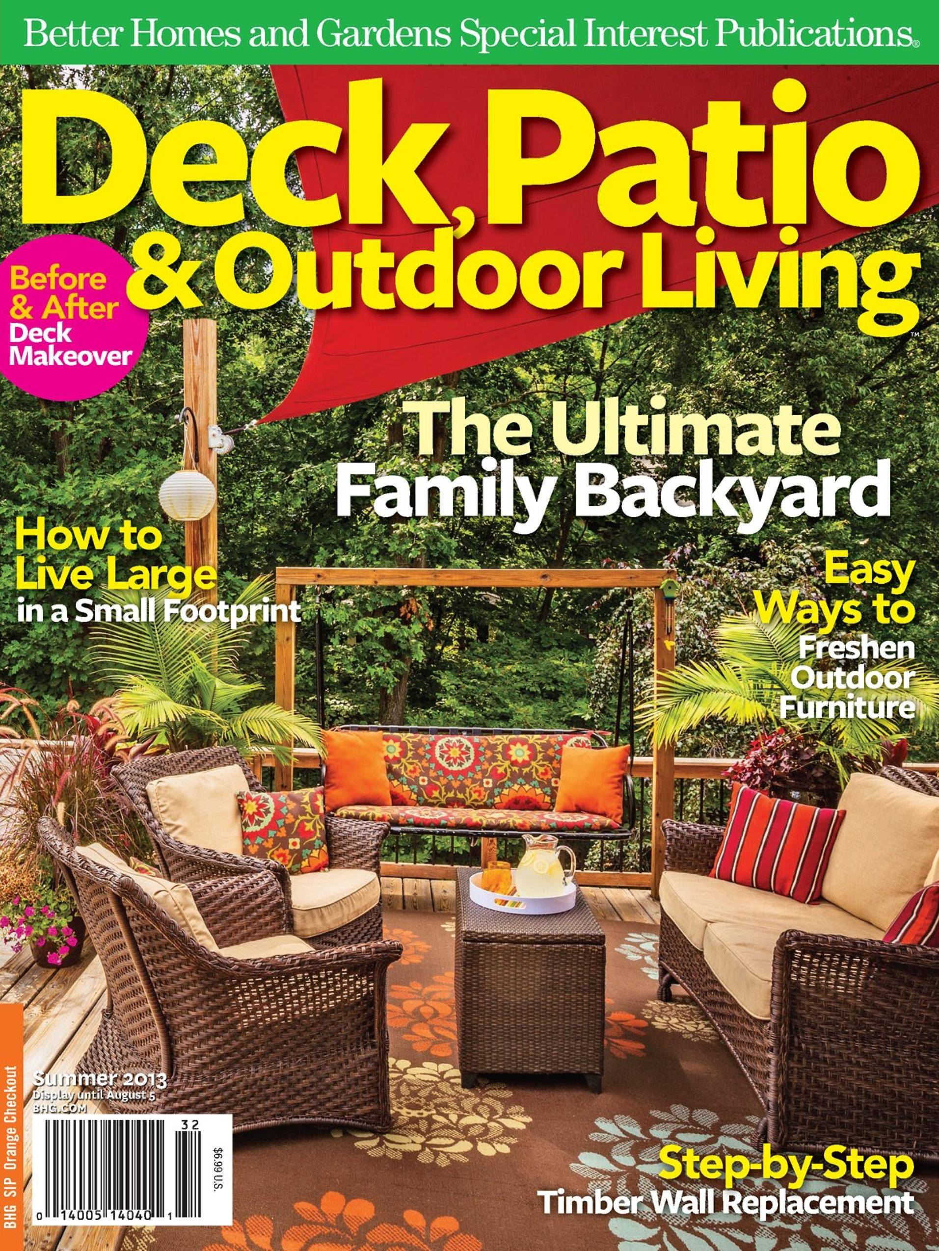 Deck, Patio & Outdoor Living - May 01, 2013