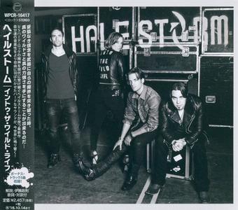 Halestorm - Into The Wild Life (2015) {Japan 1 st Press}