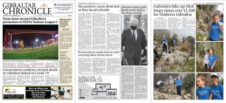 Gibraltar Chronicle – 18 November 2020