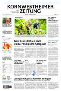 Kornwestheimer Zeitung - 12. September 2017