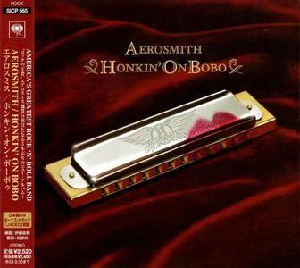 Aerosmith - Honkin' On Bobo (2004) {Japan 1st Press}