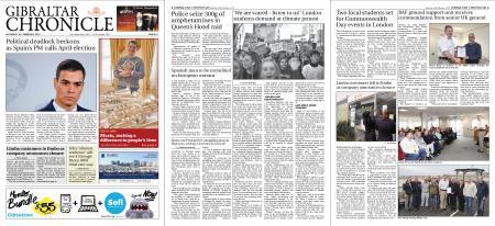 Gibraltar Chronicle – 16 February 2019