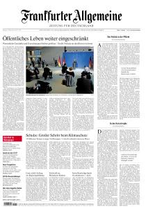 Frankfurter Allgemeine Zeitung - 17 März 2020