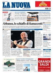 La Nuova Sardegna Nuoro - 22 Luglio 2018