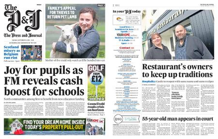 The Press and Journal Moray – September 10, 2019