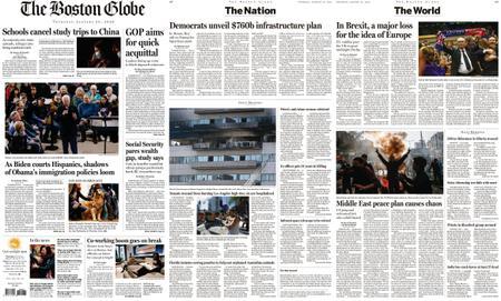 The Boston Globe – January 30, 2020