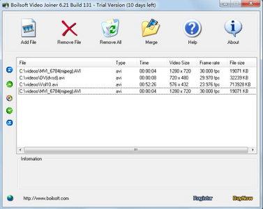 Boilsoft Video Joiner 6.56 Build 145