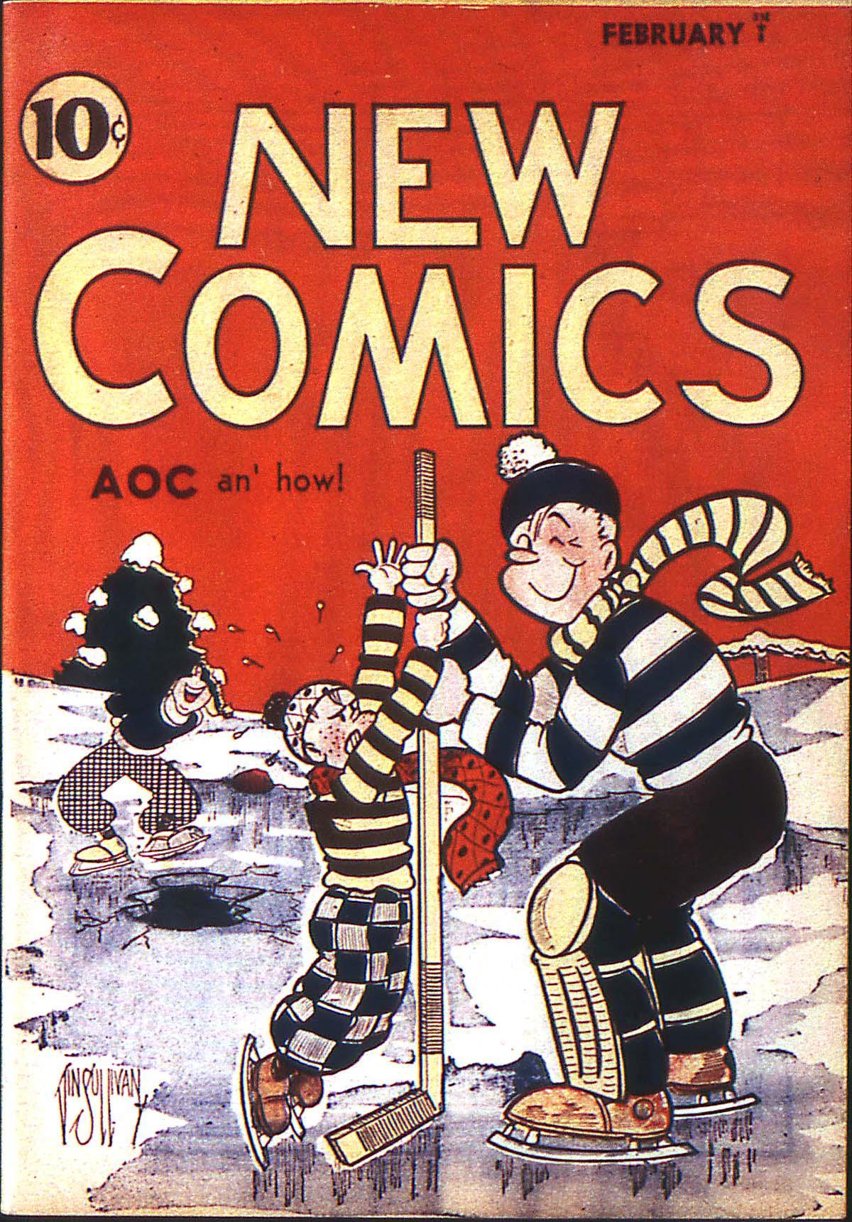 DComics YearList 1936