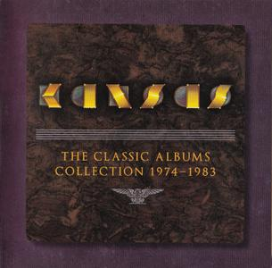 Kansas - The Classic Albums Collection 1974-1983 (2011) {Box Set, 10 Albums on 11 CDs, Remastered}