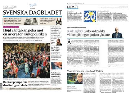 Svenska Dagbladet – 20 december 2019