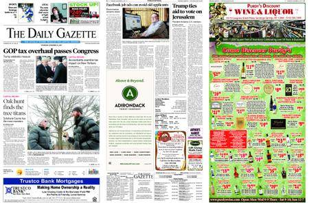 The Daily Gazette – December 21, 2017