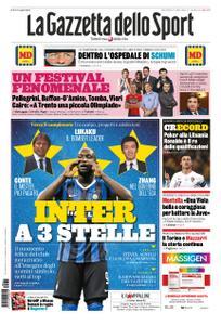 La Gazzetta dello Sport Roma – 11 settembre 2019