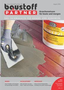 Baustoff Partner - August 2018