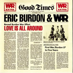 Eric Burdon & War - Love Is All Around (1976) {Avenue}