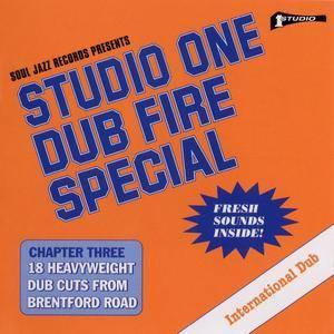 Dub Specialist - Studio One Dub Fire Special (1974-1980) {Soul Jazz Records SJRCD324 Reissue 2016}