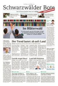 Schwarzwälder Bote Blumberg - 10. Oktober 2018