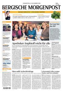 Solinger Morgenpost – 22. November 2018
