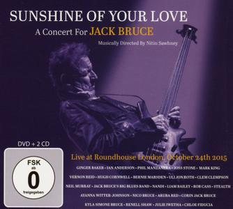 VA - Sunshine Of Your Love: A Concert For Jack Bruce (2019)