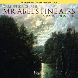 Susanne Heinrich -  Mr Abel's Fine Airs - Carl Friedrich Abel: Music for solo viola da gamba (2007)