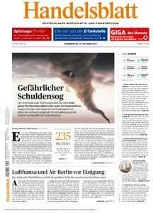 Handelsblatt - 12. Oktober 2017