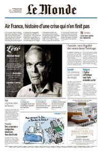 Le Monde du Mercredi 15 Août 2018