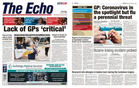 Evening Echo – August 17, 2020