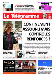 Le Télégramme Brest – 24 novembre 2020