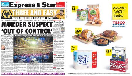Express and Star City Edition – April 25, 2019