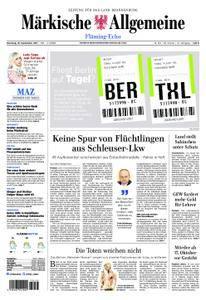 Märkische Allgemeine Fläming Echo - 19. September 2017