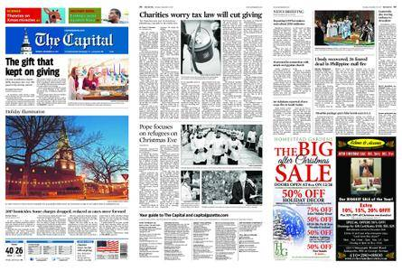 The Capital – December 25, 2017