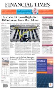 Financial Times Europe - August 19, 2020