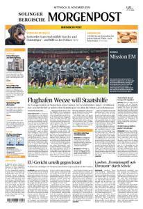 Solinger Morgenpost – 13. November 2019