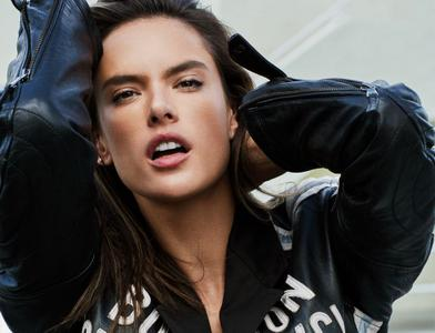 Alessandra Ambrosio by Michael Sanders for ELLE Italy April 3rd, 2019