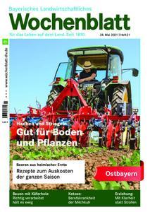 Bayerisches Landwirtschaftliches Wochenblatt Ostbayern - 27. Mai 2021