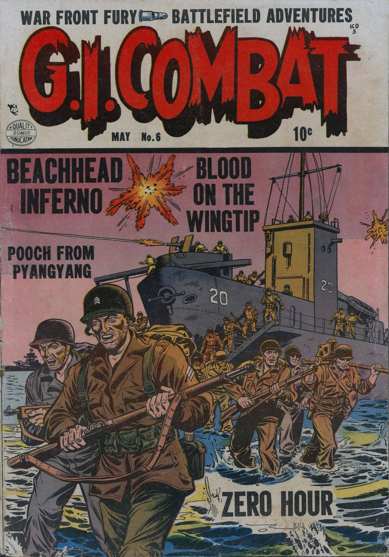 For Horby G I  Combat v1 06 1953 cbz