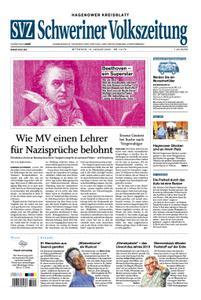 Schweriner Volkszeitung Hagenower Kreisblatt - 15. Januar 2020