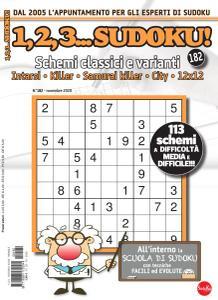 123 Sudoku N.182 - Novembre 2020