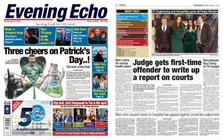 Evening Echo – March 17, 2018