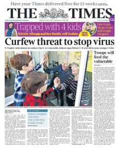 The Times - 23 March 2020