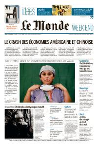 Le Monde du Samedi 18 Avril 2020