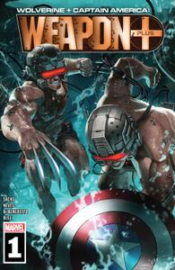 Wolverine & Captain America-Weapon Plus 001 2019 Digital F Zone