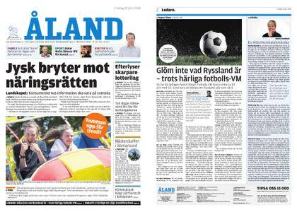 Ålandstidningen – 15 juni 2018