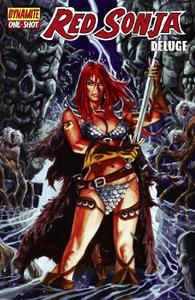 Dynamite-Red Sonja Deluge 2012 Hybrid Comic eBook