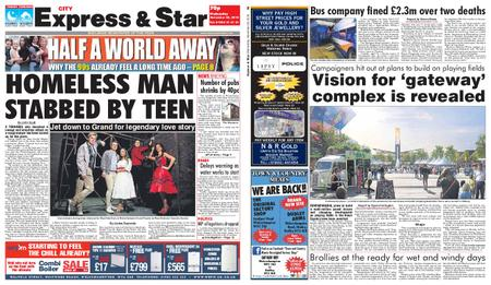 Express and Star City Edition – November 28, 2018