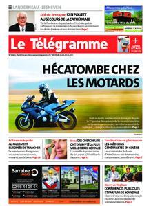 Le Télégramme Landerneau - Lesneven – 09 mars 2021