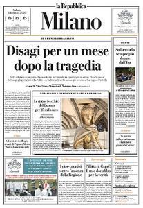 la Repubblica Milano - 8 Febbraio 2020