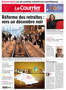 Le Courrier de l'Ouest Nord Anjou – 07 décembre 2019